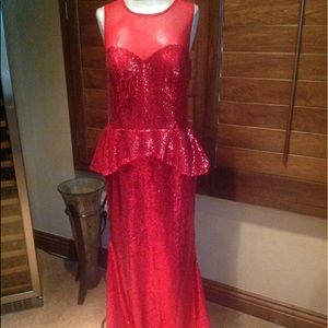 NWT sequin gown